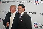 DONALD TRUMP AND MARK SANCHEZ ATTEND NFL & VOGUE CELEBRATE NFL WOMEN'S APPAREL & UNVEIL MARCHESA DESIGN AT THE NATIONAL FOOTBALL LEAGUE, NY  10/2/12