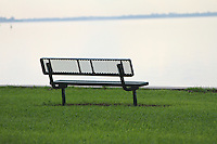 bench by the water