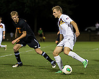 The Winthrop University Eagles lose 2-1 in a Big South contest against the Campbell University Camels.  Max Hasenstab (18), Michael Wisniewski (c18)