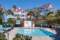 Hotel del Coronado, iconic red turrets, San Diego, California, Victorian, Architecture