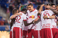 HARRISON, New Jersey - Saturday, April 22, 2017: The New York Red Bulls take on the Columbus Crew at home at Red Bull Arena during the 2017 MLS Regular Season.