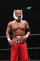Tiger Mask,AUGUST 15, 2010 - Pro Wrestling :New Japan Pro-Wrestling event at Ryogoku Kokugikan in Tokyo, Japan. (Photo by Yukio Hiraku/AFLO)