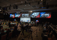 Baltimore, MD - January 14, 2015: The MLS SuperDraft at the Baltimore Convention Center.