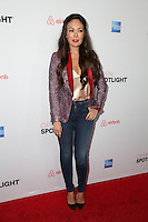 LOS ANGELES, CA - NOVEMBER 19: Lindsay Price attends the 3rd Annual Airbnb Open Spotlight on November 19, 2016 in Los Angeles, California.  (Credit: Parisa Afsahi/MediaPunch).