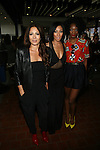 Designer Catherine Malandrino, Roc Nation Recording Artist Bridget Kelly and Stylist Kimberly V at Catherine Malandrino Spring Summer 2014 Presentation (Les Voiles De Saint Tropez) Held at Mercedes Benz Fashion Week NY