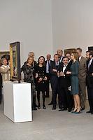 Queen Letizia Visit Museum