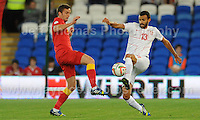 Action during the Wales v Serbia FIFA World Cup 2014 Qualifier match at Cardiff City Stadium, Cardiff, Wales -Tuesday 10th Sept 2014. All images are the copyright of Jeff Thomas Photography-07837 386244-www.jaypics.photoshelter.com