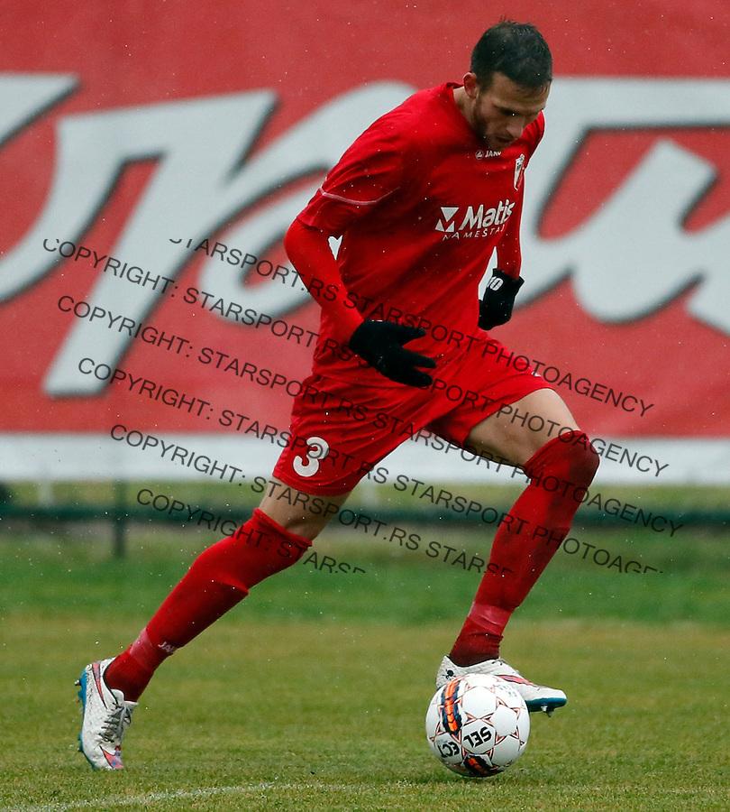 Ivan Josovic Super liga Srbije, Superliga, fudbal, Rad - Javor (Ivanjica)  Novembar 28. 2015. Beograd, Srbija, 28.11.2015.  (credit image & photo: Pedja Milosavljevic / STARSPORT)