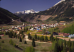 View of Silverton in June