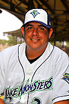 24 June 2008: Vermont Lake Monsters Hitting Coach Jason Camilli. Baseball Card Image for 2008. For in-house use by the Vermont Lake Monsters Only. Editorial or other use of images by other publications or media outlets must secure licensing from the photographer Ed Wolfstein prior to publication, and is based on standards of circulation, and placement in a given publication...Mandatory Credit: Ed Wolfstein.
