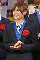 Nahomi Kawasumi (JPN), DECEMBER 27, 2011 - Football / Soccer : Nahomi Kawasumi of Japan attends Celebration party for FIFA Women's World Cup Champion at Tokyo Dome City in Tokyo, Japan. (Photo by Yusuke Nakanishi/AFLO SPORT) [1090]