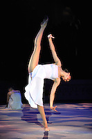 "ALINA MAKSYMENKO of Ukraine performs gala at 2011 World Cup Kiev, ""Deriugina Cup"" in Kiev, Ukraine on May 8, 2011."