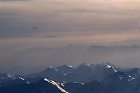 Segelflug, Segelflugzeug,  Berge, Schnee, Alpen, Frankreich, Seealpen, Provence