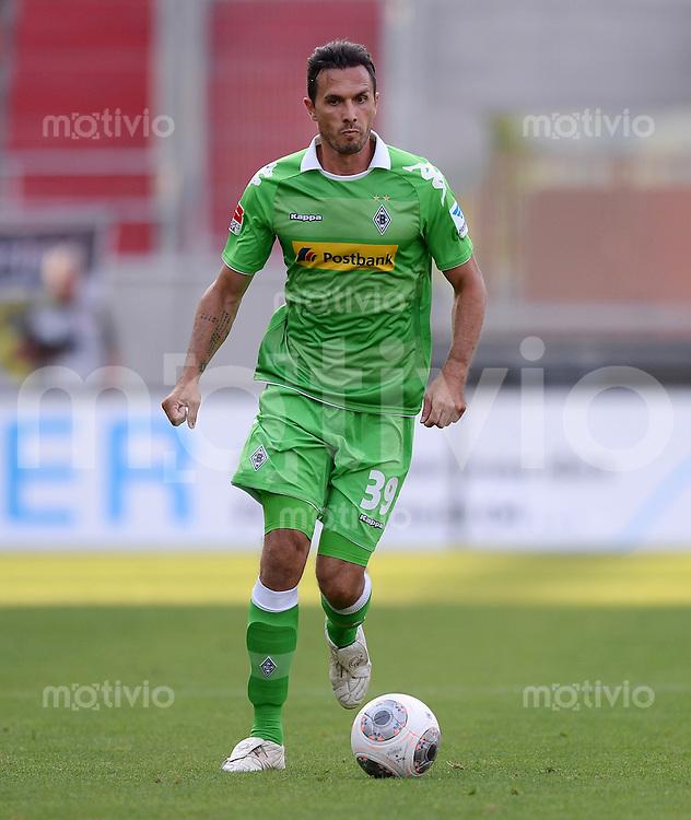 FUSSBALL  1. Bundesliga   2013/2014   Testspiel  FC Ingolstadt 04 - Borussia Moenchengladbach    13.07.2013 Martin Stranzl  (Borussia Moenchengladbach) am Ball