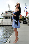 Fashion Bat Mitzvah Portraits.On the dock on Long Island Sound.The Delmar Hotel, Greenwich, Connecticut.