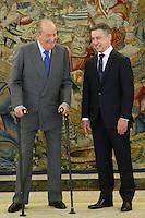 King Juan Carlos Meets Urkullu