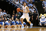 24 October 2014: North Carolina's Marcus Paige. The University of North Carolina Tar Heels played the Fayetteville State University Broncos in an NCAA Division I Men's basketball exhibition game at the Dean E. Smith Center in Chapel Hill, North Carolina. UNC won the exhibition 111-58.
