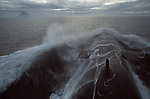Warspite nuclear submarine planning in the north Atlantic off coast line of UK. Ailsa Craig island.