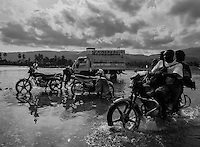 Haiti in 2010, shortly after the earthquake.<br />