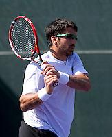 Janko TIPSAREVIC (SRB) against Philipp PETZSCHNER (GER) in the second round of the men's singles. Petzschner beat Tipsarevic 6-4 6-0..International Tennis - 2010 ATP World Tour - Sony Ericsson Open - Crandon Park Tennis Center - Key Biscayne - Miami - Florida - USA - Sat 27 Mar 2010..© Frey - Amn Images, Level 1, Barry House, 20-22 Worple Road, London, SW19 4DH, UK .Tel - +44 20 8947 0100.Fax -+44 20 8947 0117