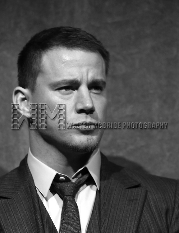 Channing Tatum during the on stage Presentation for 'Foxcatcher' at the Roy Thomson Hall during the 2014 Toronto International Film Festival on September 8, 2014 in Toronto, Canada.