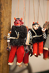 Puppets, a traditional, handmade Czech product, Prague, Czech Republic, Europe