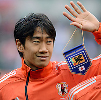 FUSSBALL   INTERNATIONAL   Testspiel    Japan - Brasilien          16.10.2012 Shinji KAGAWA (Japan)