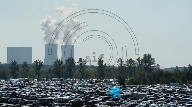 Highfield-Festival 2011 am Störmthaler See. im Bild: Blechkaravane. Beim Highfield wird das Auto abgeparkt. Auf dem Campinggelaende stehen nur Zelte. Foto: Alexander Bley