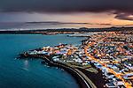 Loftmyndir af Reykjanesi