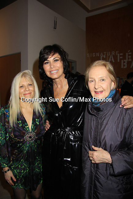 "All 3 actresses were on One Life To Live - Ilene Kristen ""Roxy Balsam"", Shelly Burch ""Delilah Buchanan Ralston"" and Taina Elg ""Olympia Buchanan"" both married to ""Asa"" as they perform at Starry Actors' Fund Benefit on January 14, 2013 for one night only at the Pershing Square Signature Center, New York City, New York.  (Photo by Sue Coflin/Max Photos)"