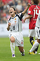 Homare Sawa (Leonessa), OCTOBER 30, 2011 - Football / Soccer : Homare Sawa celebrates her goal during the 2011 Plenus Nadeshiko LEAGUE 1st Sec match between INAC Kobe Leonessa 1-1 Urawa Reds Ladies at Home's Stadium Kobe in Hyogo, Japan. (Photo by Kenzaburo Matsuoka/AFLO) [2370]