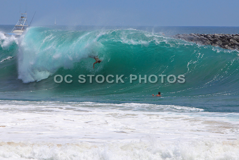 The Wedge Body Surfing
