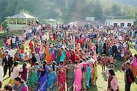 UTTARAKHAND: Villagers in the Kumaon Himalayas dance at the Nanda Devi Festival. Photo by Michael Benanav.