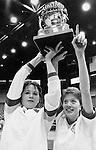 17268Basketball Trophy: Lady Bobcats & Scrapbook 1986: Copy Photos