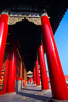 Hall of Middle Harmony, Imperial Palace, The Forbidden City, Beijing, China