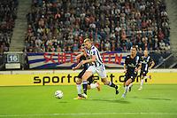 VOETBAL: HEERENVEEN: Abe Lenstra Stadion 29-08-2015, SC Heerenveen - PEC Zwolle, uitslag 1-1, Henk Veerman (#20), ©foto Martin de Jong