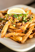 Hillsborough, North Carolina - Thursday January 21, 2016 - LaPlace's étouffée fries. House fries smotherd in crawfish étouffée.