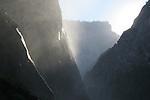 Mist trail at Vernal Fall