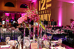 Fabulous party, ballroom decor for a Bat Mitzvah at Greenwich Temple, Greenwich, CT.<br /> <br /> Decor by House of Flowers, Mamaroneck, NY