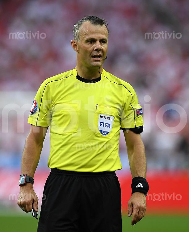 FUSSBALL EURO 2016 GRUPPE C IN PARIS Deutschland - Polen    16.06.2016 Schiedsrichter Bjoern Kulpers