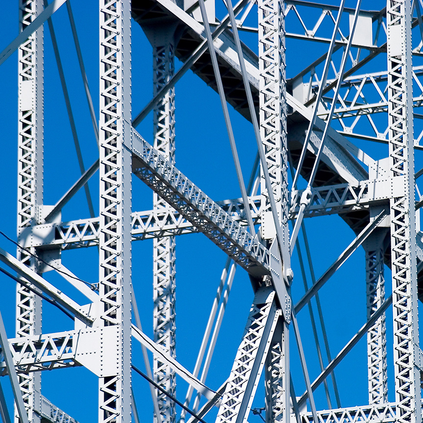 Pittsburgh Bridges - square crop series -