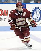 Joe Whitney (BC - 15) - The Northeastern University Huskies defeated the visiting Boston College Eagles 2-1 on Saturday, February 19, 2011, at Matthews Arena in Boston, Massachusetts.
