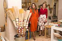Queen Mathilde of Belgium & Queen Rania of Jordan at ' River Foundation ' in Amman - Jordan