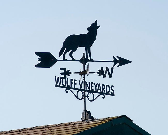 Weathervane at Wolff Vineyards near San Luis Obispo, California