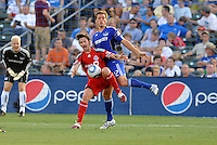 Mista, Jimmy Conrad #12,..Kansas City Wizards defeated Toronto FC 1-0 at Community America Ballpark, Kansas City, Kansas.
