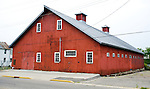 A collection of Barns that still can be seen while traveling the countryside in  the beautiful State of Wisconsin.<br /> Sauk County-Horse Barn at Circus World Museum in Baraboo.