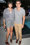 Trina Turk and Peter Som Attend Chandon Kicks Off The Seasons With A Fabulous, Exclusive American Summer Soirée on The Beach at the Dream Downtown