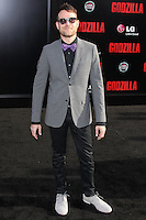 """HOLLYWOOD, LOS ANGELES, CA, USA - MAY 08: Max Borenstein at the Los Angeles Premiere Of Warner Bros. Pictures And Legendary Pictures' """"Godzilla"""" held at Dolby Theatre on May 8, 2014 in Hollywood, Los Angeles, California, United States. (Photo by Xavier Collin/Celebrity Monitor)"""