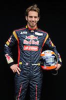 TORO ROSSO FRENCH DRIVER, JEAN ERIC VERGNE. .Melbourne 16/03/2013 .Formula 1 Gp Australia.Foto Insidefoto.ITALY ONLY .Posato Ritratto Pilota