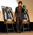 "Actor Hiro Mizushima appears a promotional event for new film ""The Incredible Hulk"" in Tokyo. Mizushima dubs the main character (Edward Norton) in the film. 2 August, 2008. (Taro Fujimoto/JapanToday/Nippon News)"